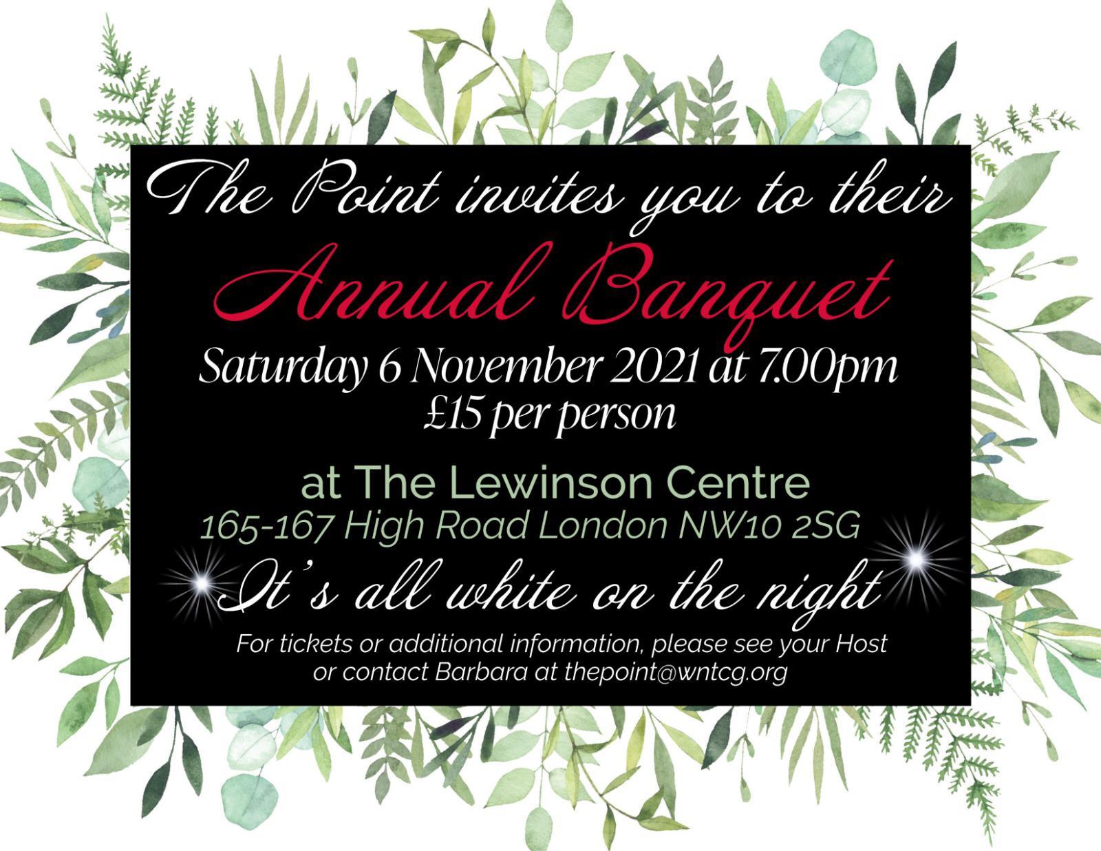 Annual Banquet 2021